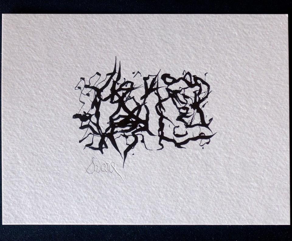 """SORROWS DECEPTION PASS UN PASSAVANT"" original fine art by Craig Svare"