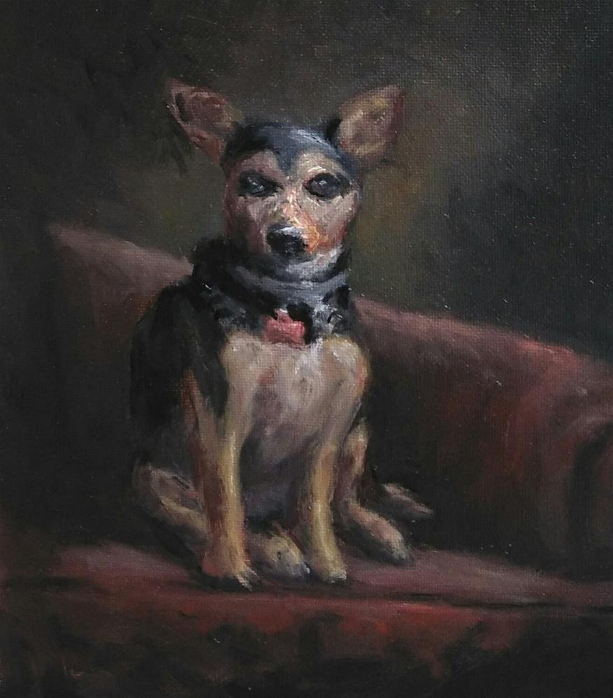 """Little Molly"" original fine art by tom dawson"