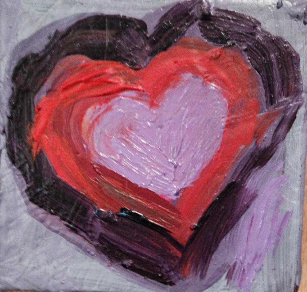 """Art Lover 1"" original fine art by barbara quast"