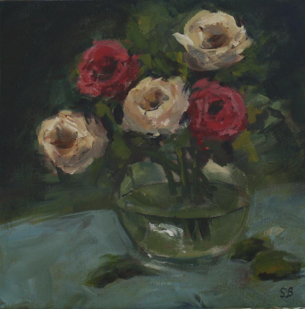 """Mixed Roses"" original fine art by Shannon Bauer"