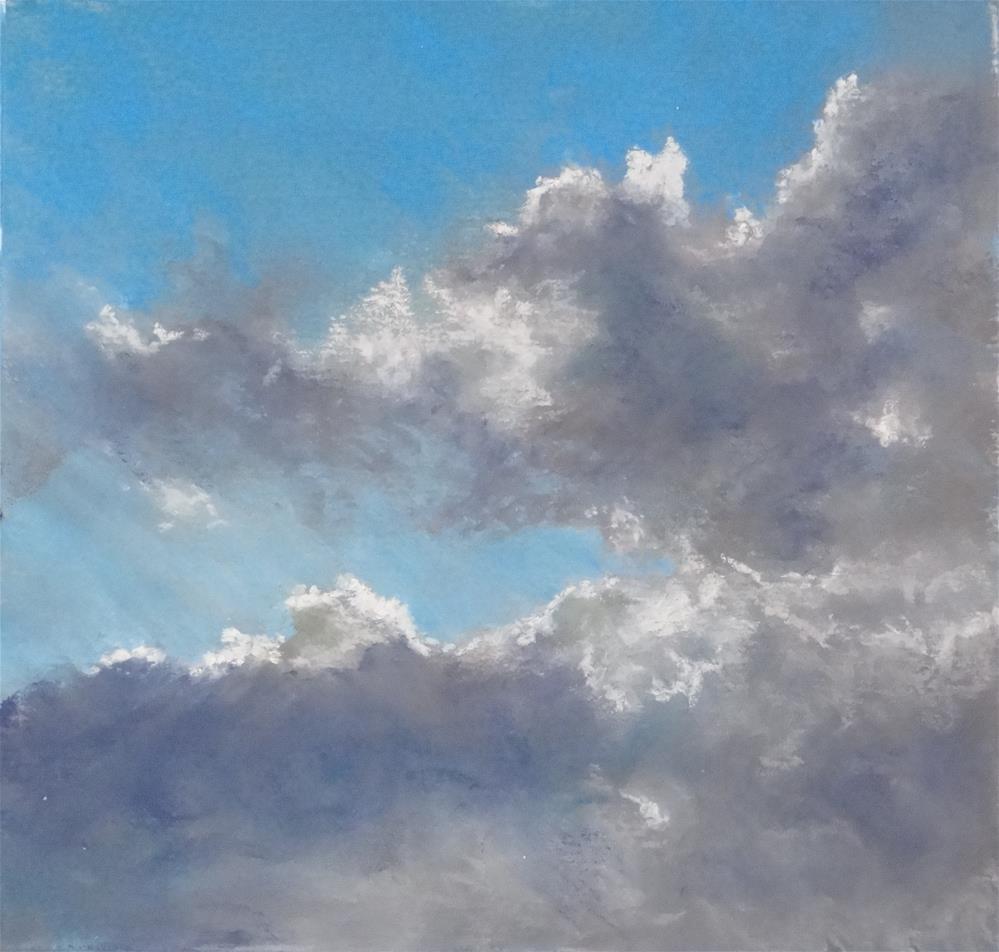"""Sky #1"" original fine art by Denise Beard"