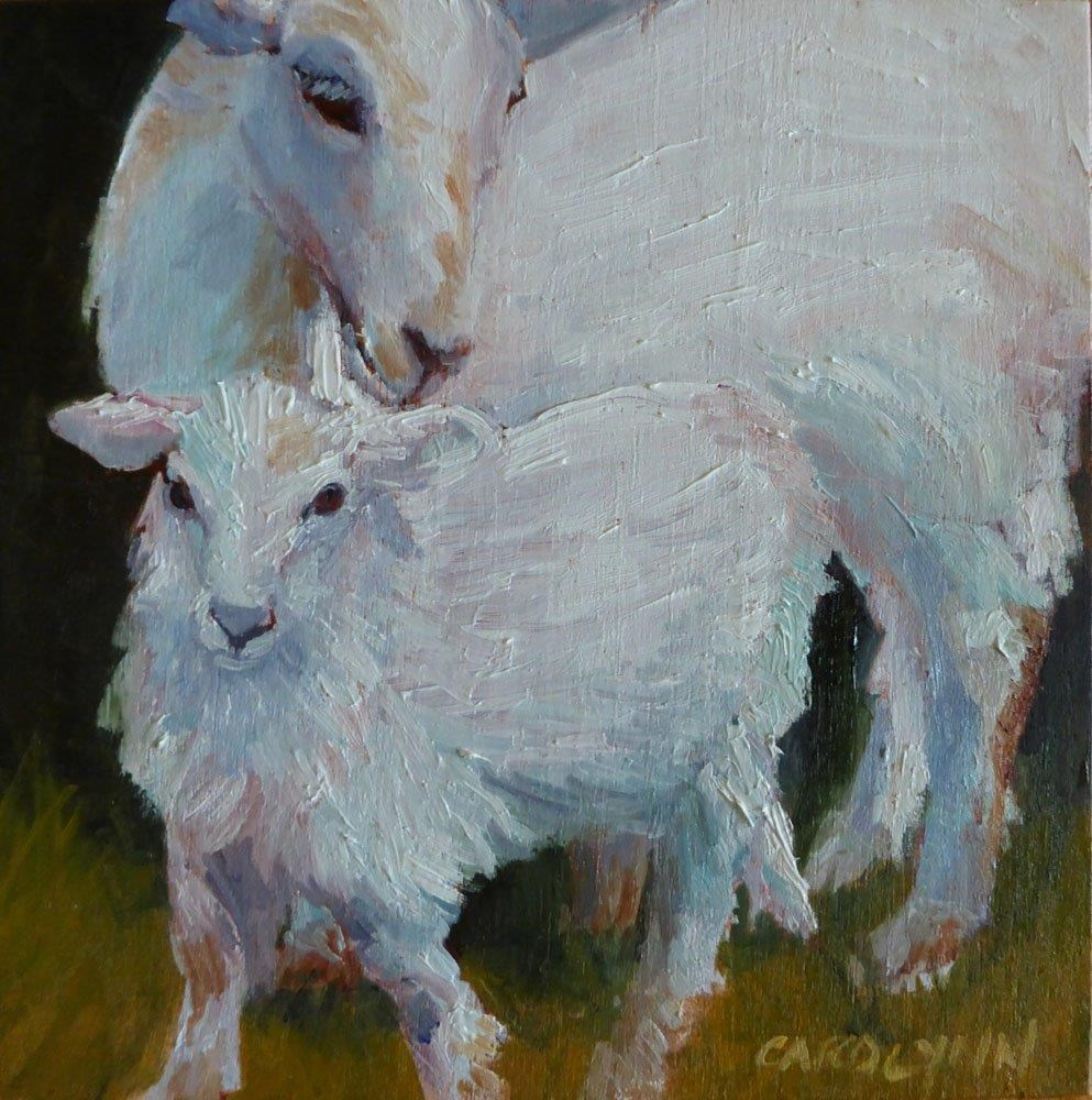 """A Mother's Love"" original fine art by Carolynn Doan"