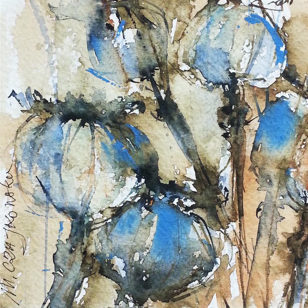 """Poppy"" original fine art by Marlena Czajkowska"