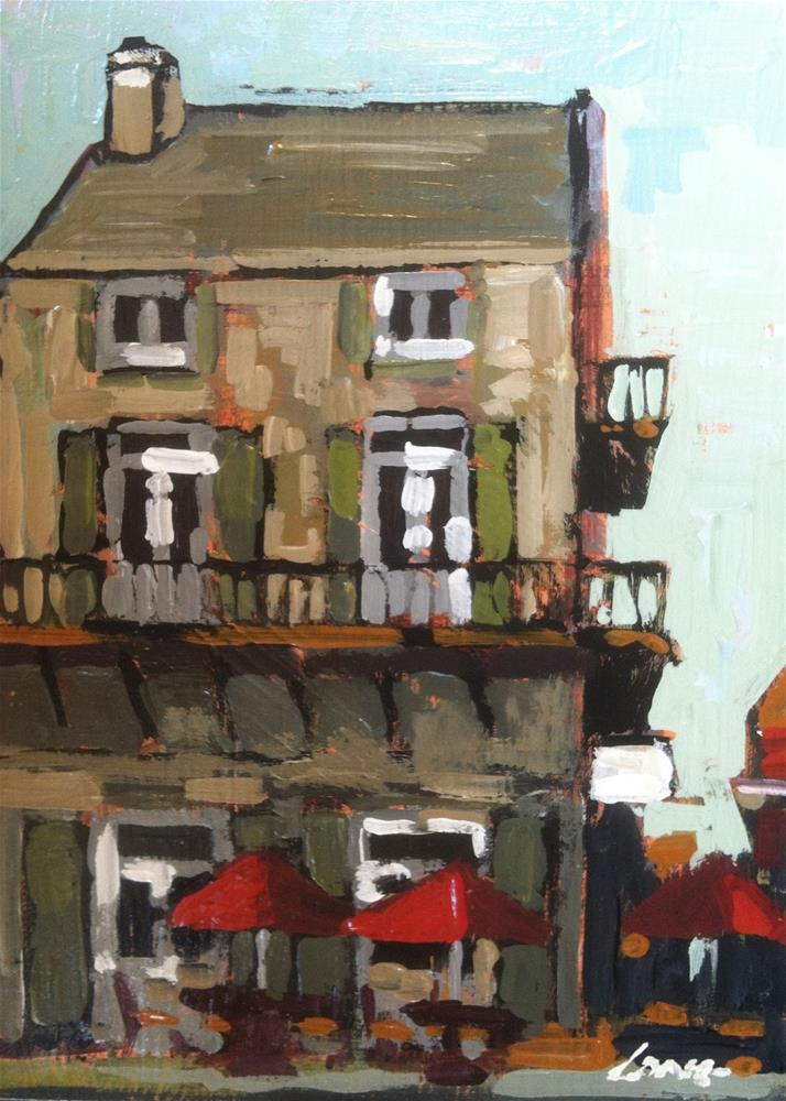 """Pizza Kitchen, New Orleans"" original fine art by Chris Long"