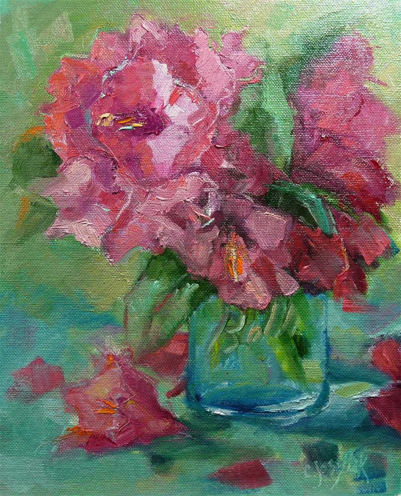 """Just picked"" original fine art by Carol Josefiak"