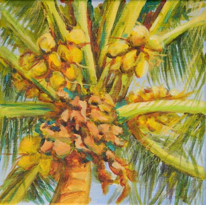 """Coco Nuts"" original fine art by Gloria Urban"