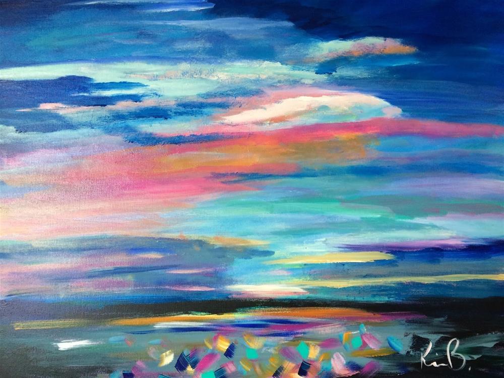 """The SKY"" original fine art by Kimberly Balentine"