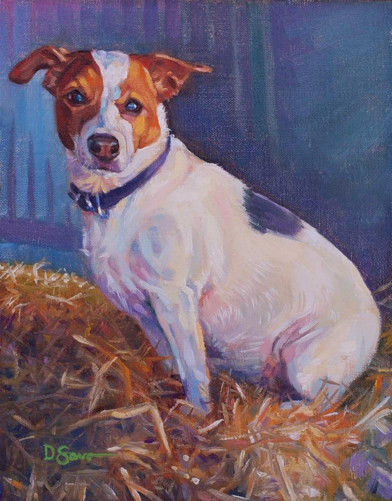 """Ruby"" original fine art by Deborah Savo"