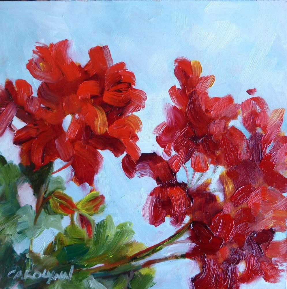 """Sign of Summer"" original fine art by Carolynn Doan"