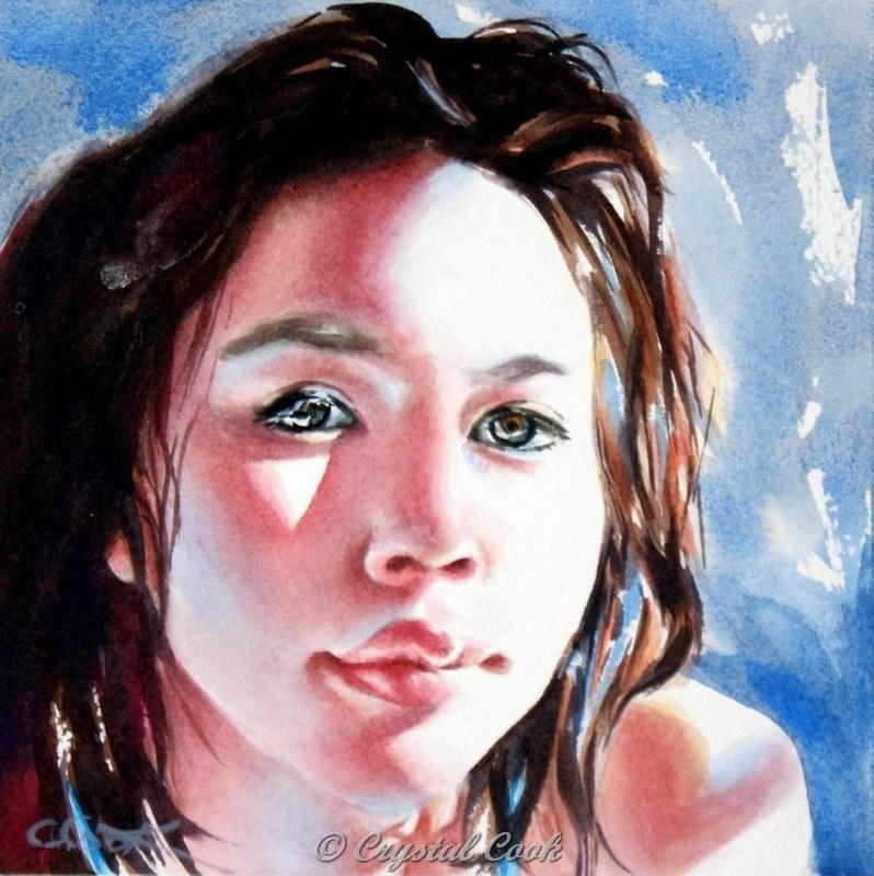 """Penumbra"" original fine art by Crystal Cook"