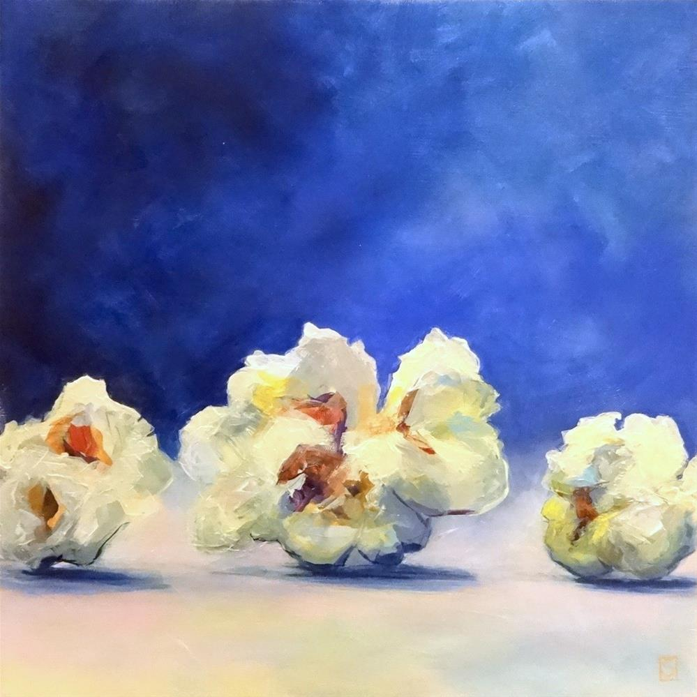 """5108 - Popcorn Parade - Exhibition Size"" original fine art by Sea Dean"