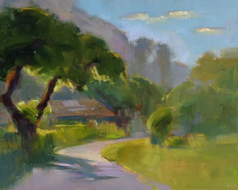 """Last Light"" original fine art by Patti McNutt"