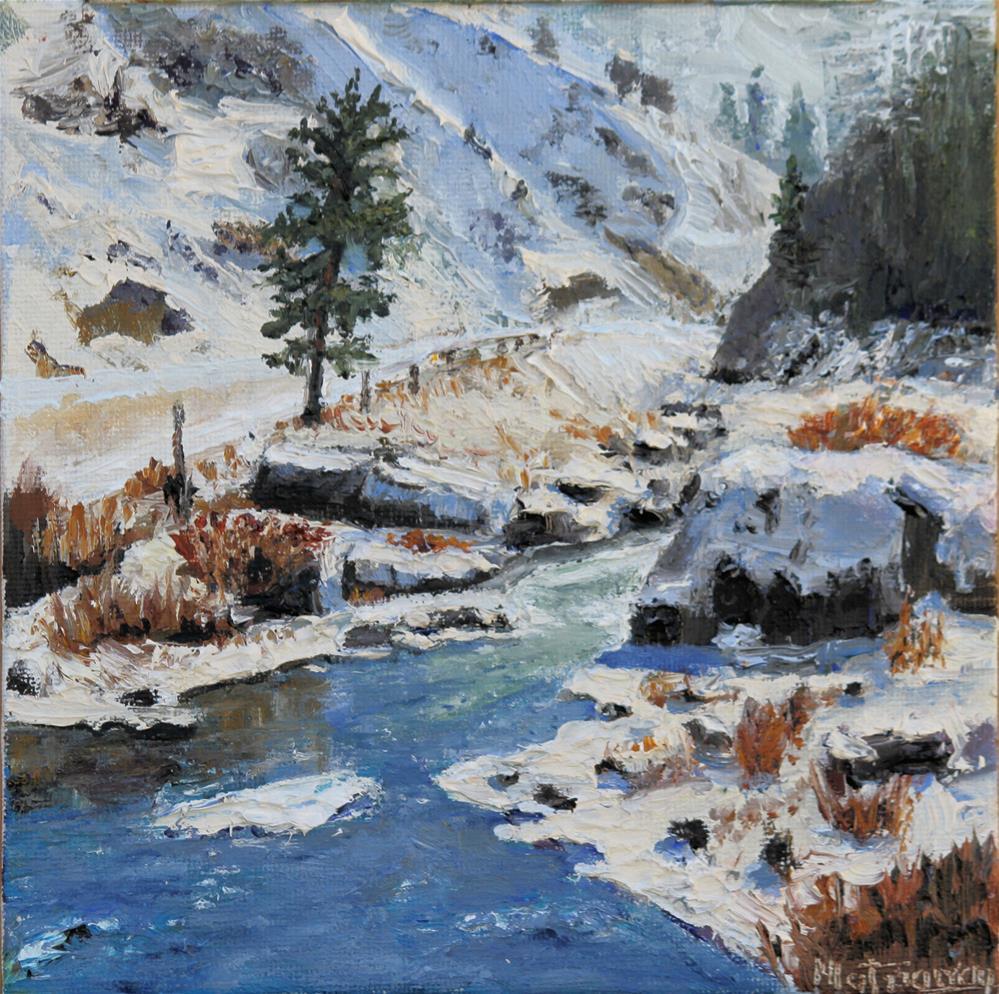 """Winters End"" original fine art by Patricia Matranga"