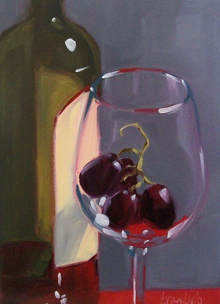 """In the glass"" original fine art by Brandi Bowman"