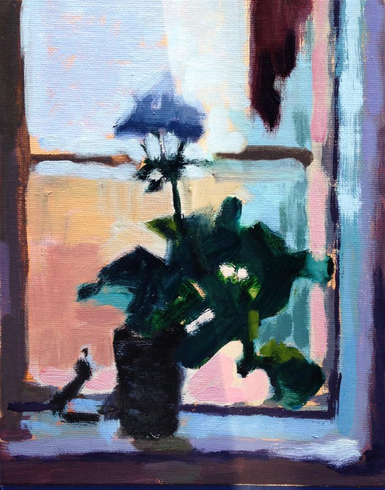"""Bathroom Window"" original fine art by Pamela Hoffmeister"