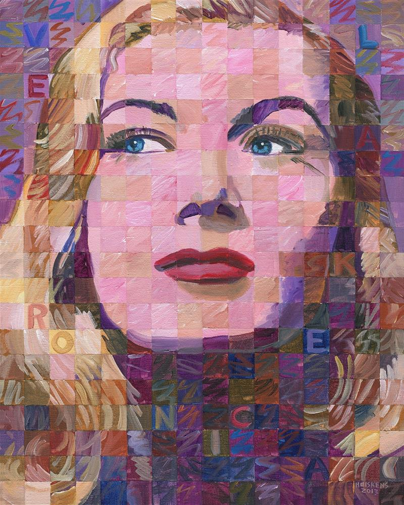 """Veronica Lake"" original fine art by Randal Huiskens"
