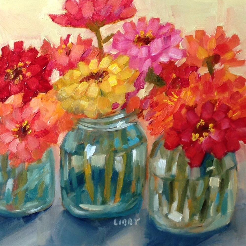 """""""Close Neighbors"""" original fine art by Libby Anderson"""