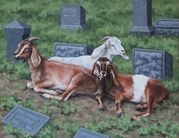 """Lost and Found"" original fine art by Sarah Becktel"