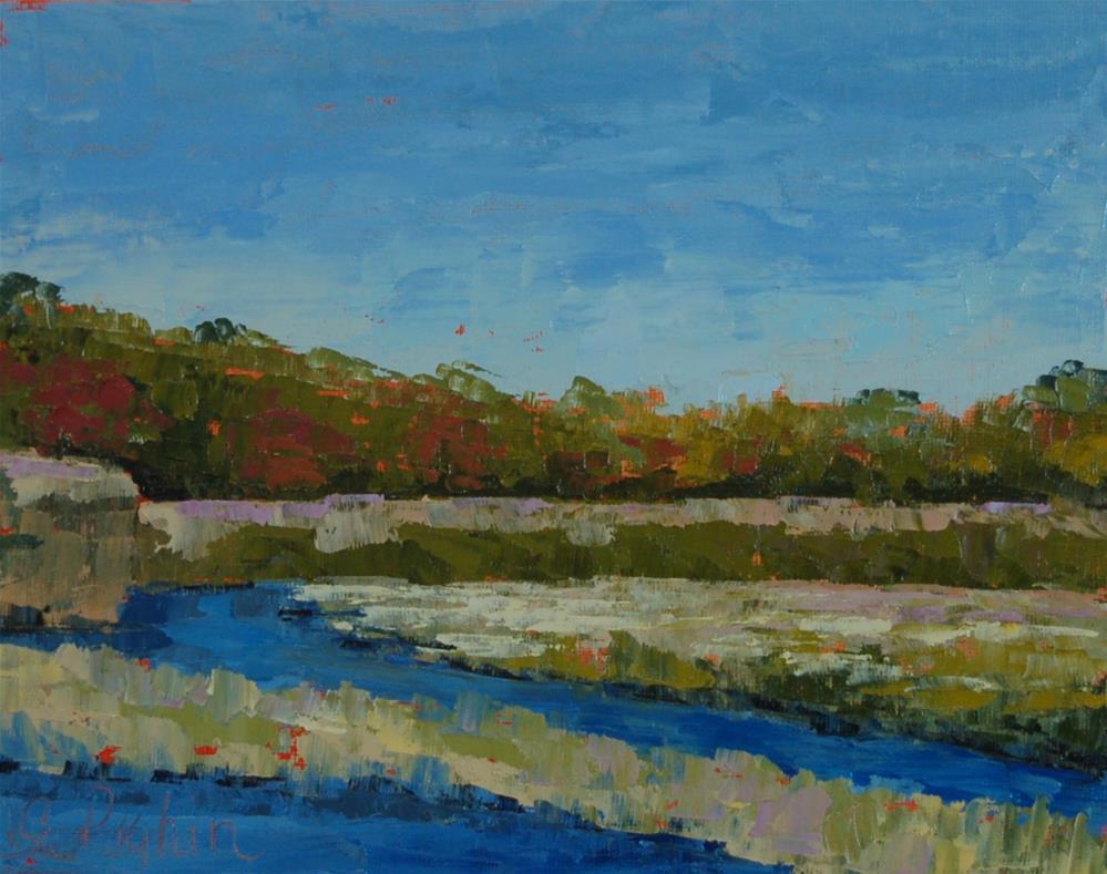 """Harwich Marsh"" original fine art by Carol Pighin"