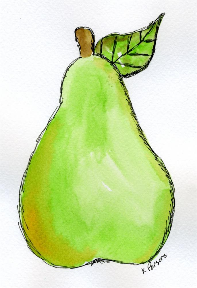 """""""Feeling Fruity"""" original fine art by Kali Parsons"""