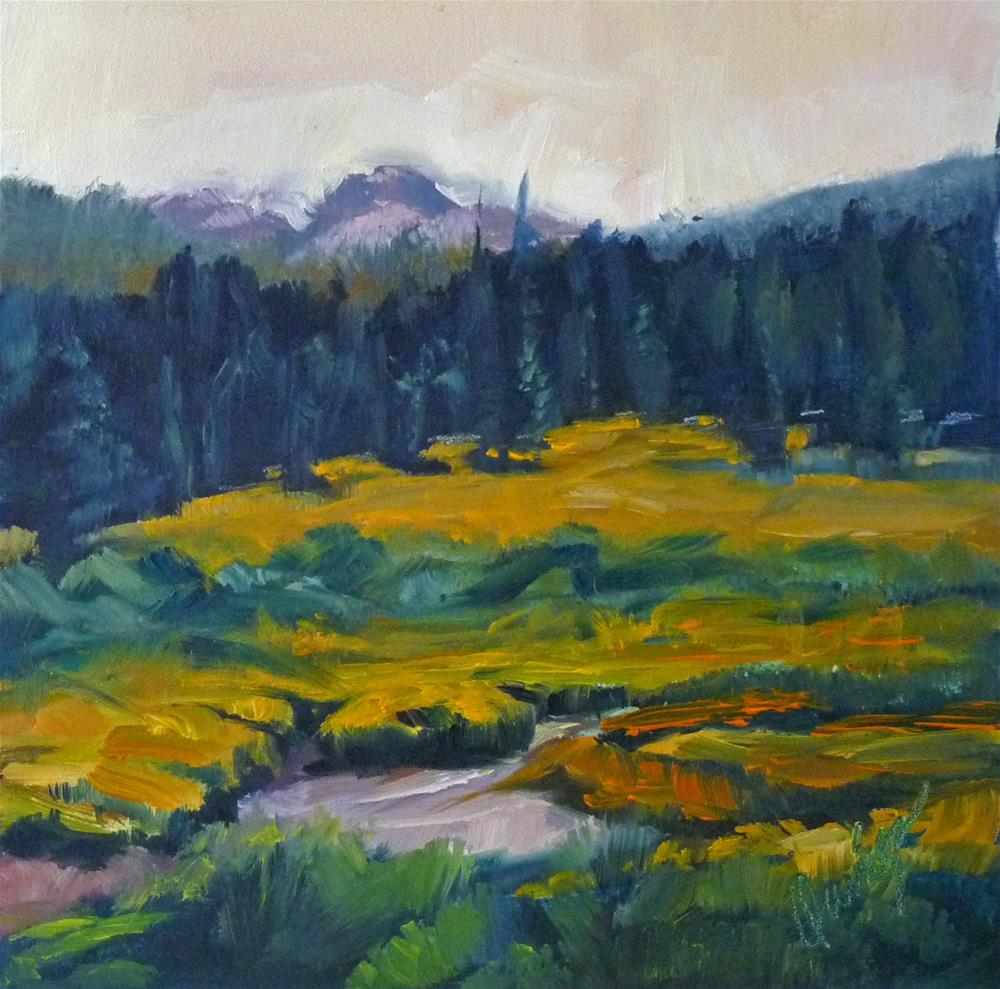 """Fall Bloom"" original fine art by Sharman Owings"