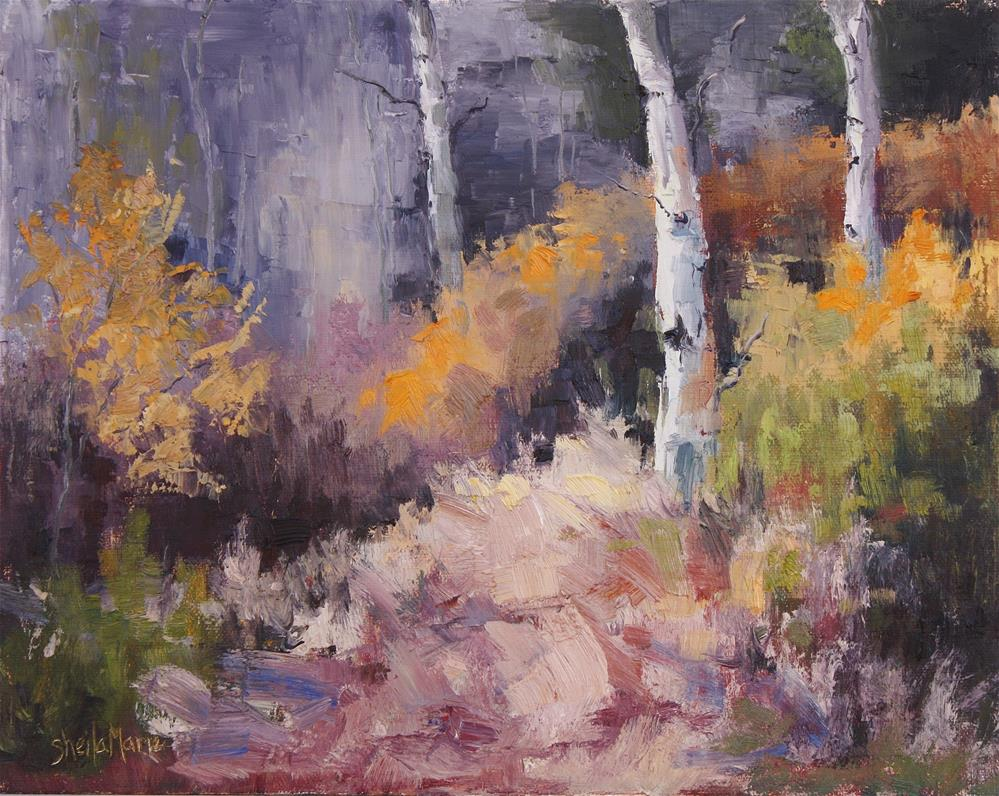"""""""Trio in Splendor"""" original fine art by Sheila Marie"""