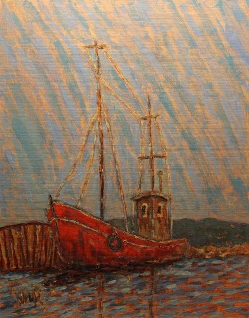 """""""Greenland"""" original fine art by William Cook"""