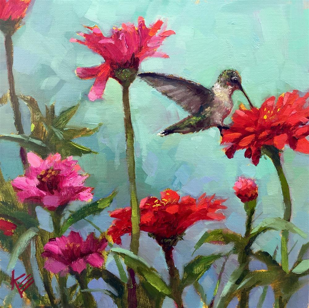 """Daily Dose"" original fine art by Krista Eaton"