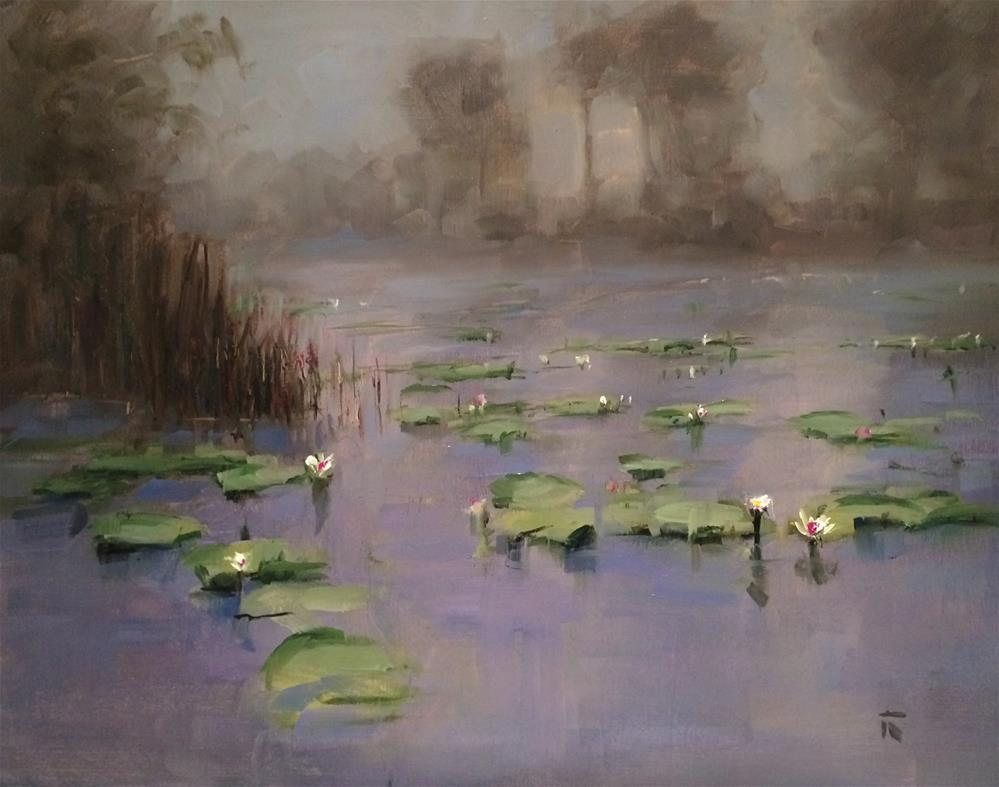 """""""Morning Promisses"""" original fine art by Thomas Ruckstuhl"""