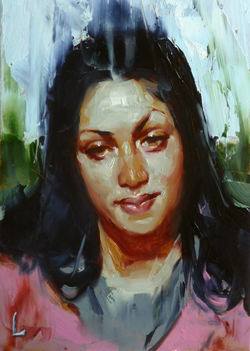 """Updraft"" original fine art by John Larriva"