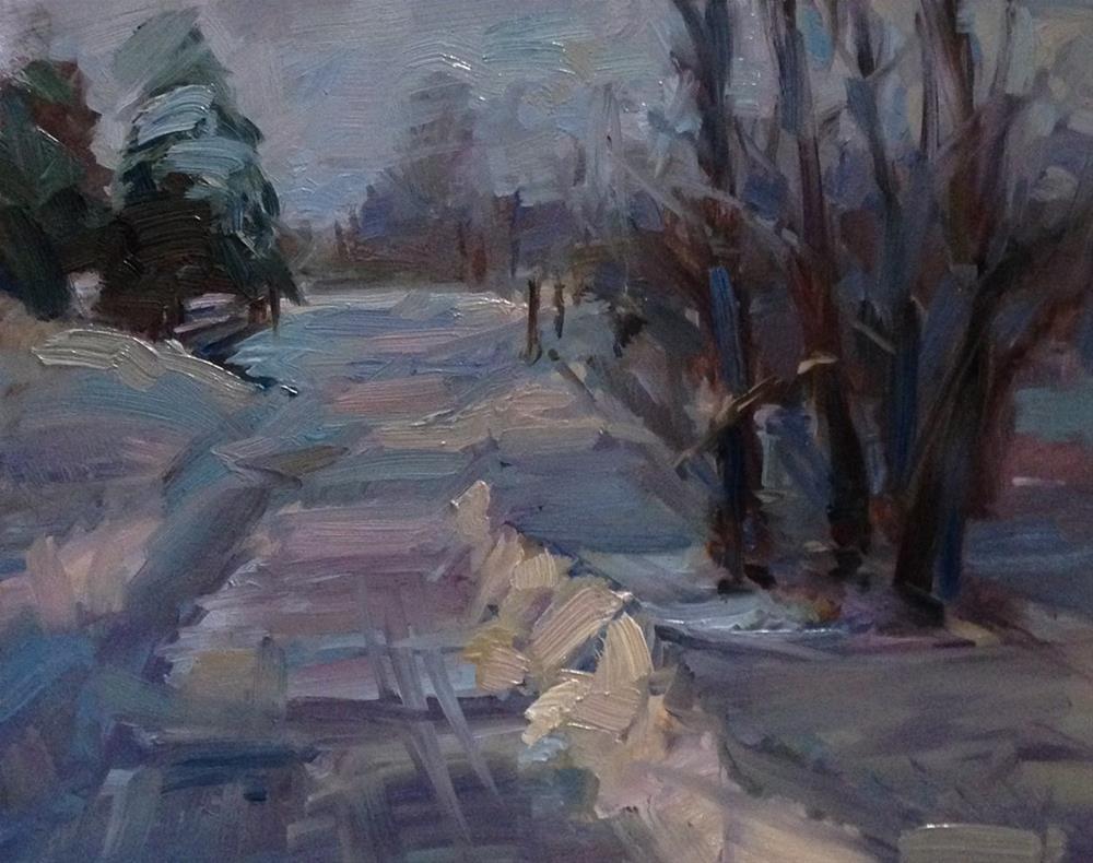 """Winter Wonderland"" original fine art by Patti McNutt"