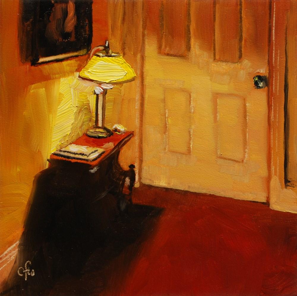 """The Hallway"" original fine art by Gary Westlake"