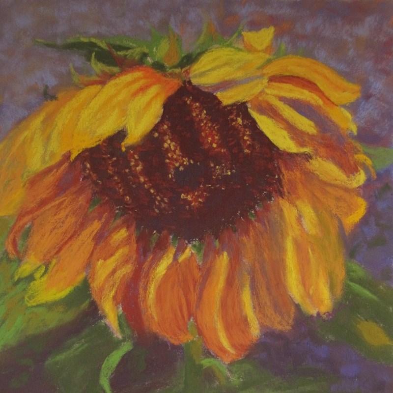 """""""Sunflower South"""" original fine art by Ruth Mann"""