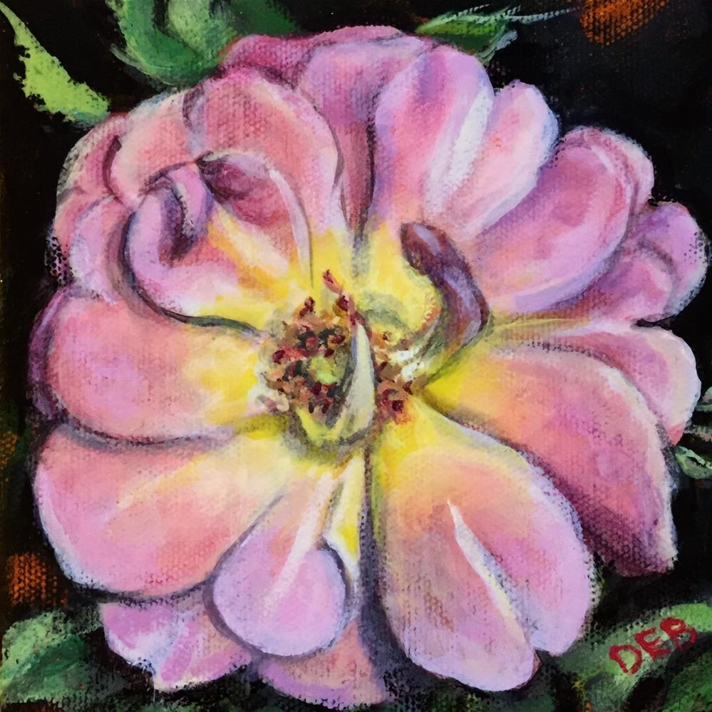 """Rose Study"" original fine art by Debbie Yacenda"