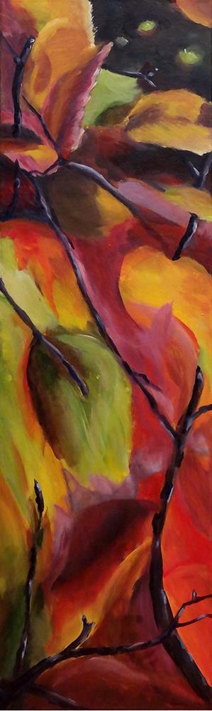 """0810 Color Mark"" original fine art by Dietmar Stiller"