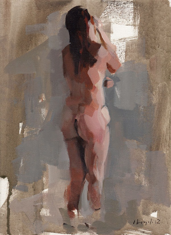 """Figure Study 1"" original fine art by David Lloyd"