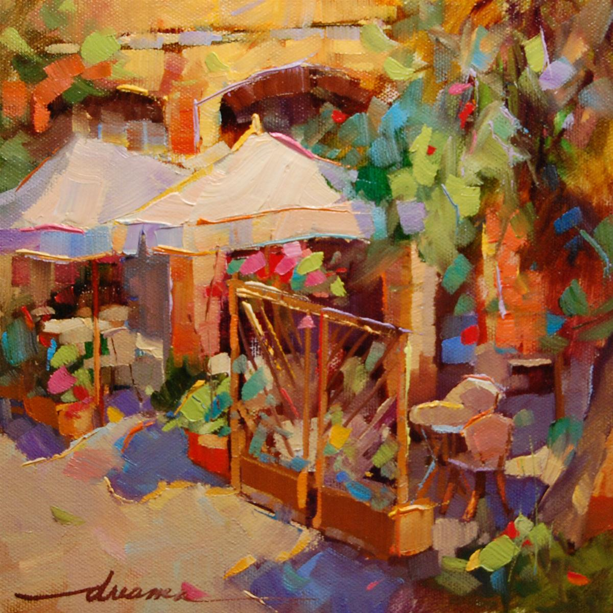 """High on Italian Sunshine SOLD"" original fine art by Dreama Tolle Perry"