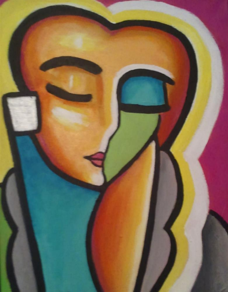 """Pablo's Pretty Lady"" original fine art by Stuart Glazer"