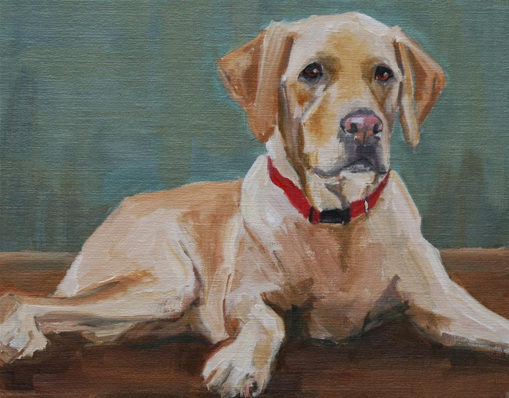 """dixie"" original fine art by Carol Carmichael"