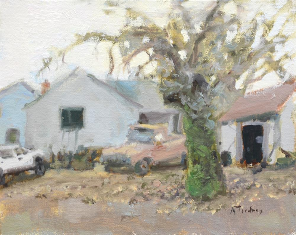 """Community Farm, January"" original fine art by alicia tredway"