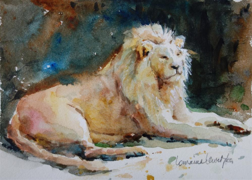 """Untitled"" original fine art by Lorraine Lewitzka"
