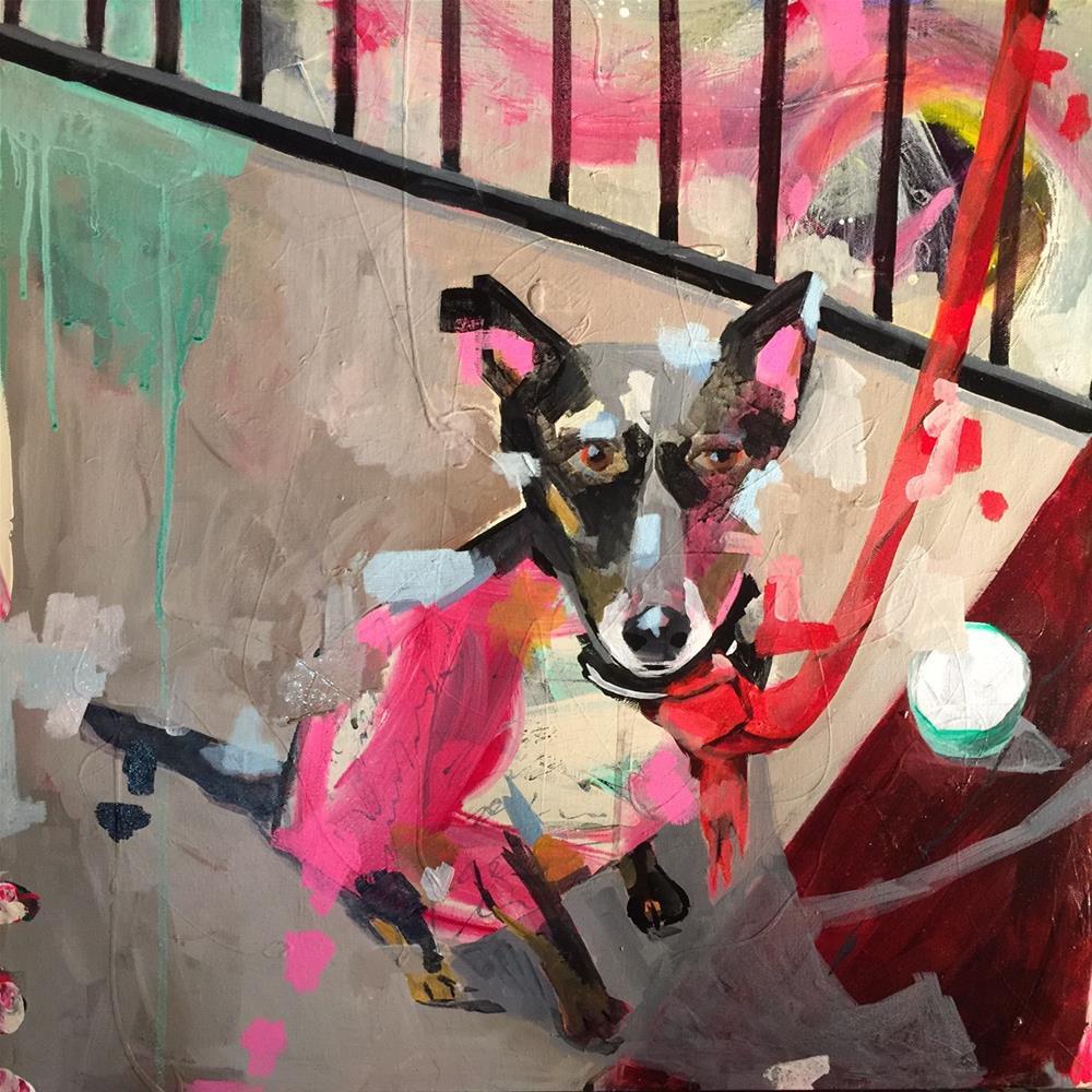 """""""161 My Funny Valentine"""" original fine art by Jenny Doh"""