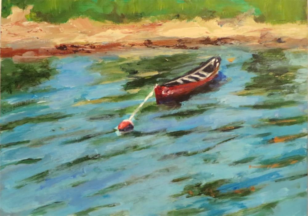 """637 Calm"" original fine art by Diane Campion"