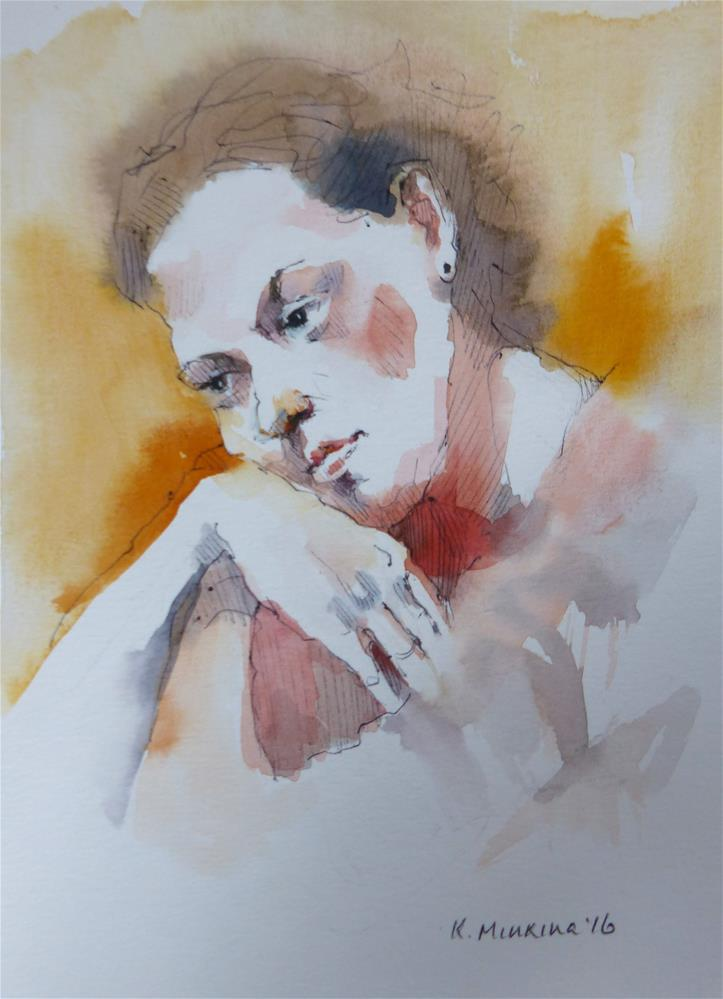 """sketchbook#37"" original fine art by Katya Minkina"