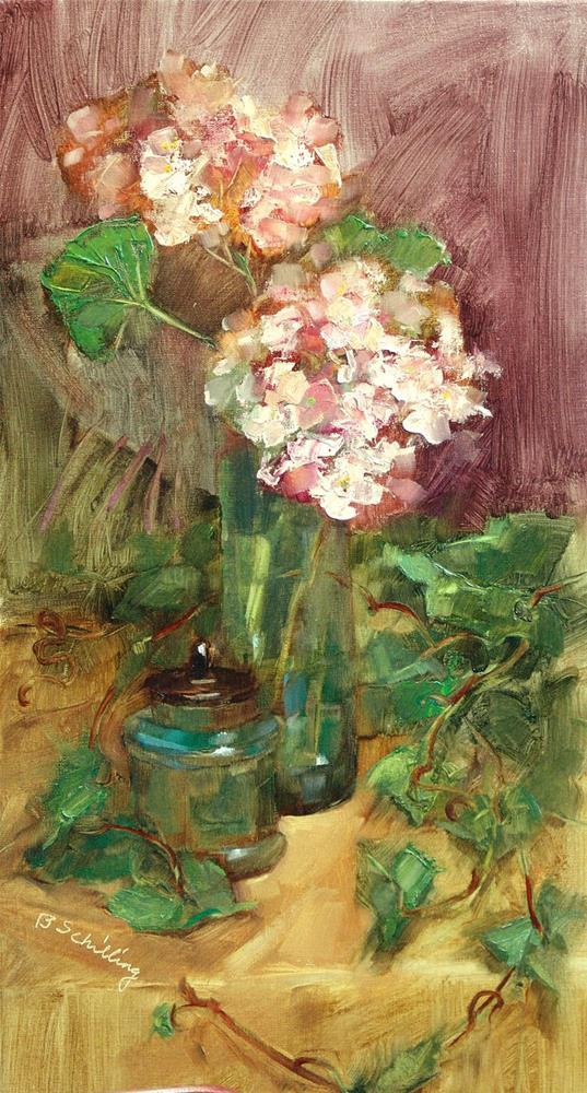 """/Garden Jewels"" original fine art by Barbara Schilling"