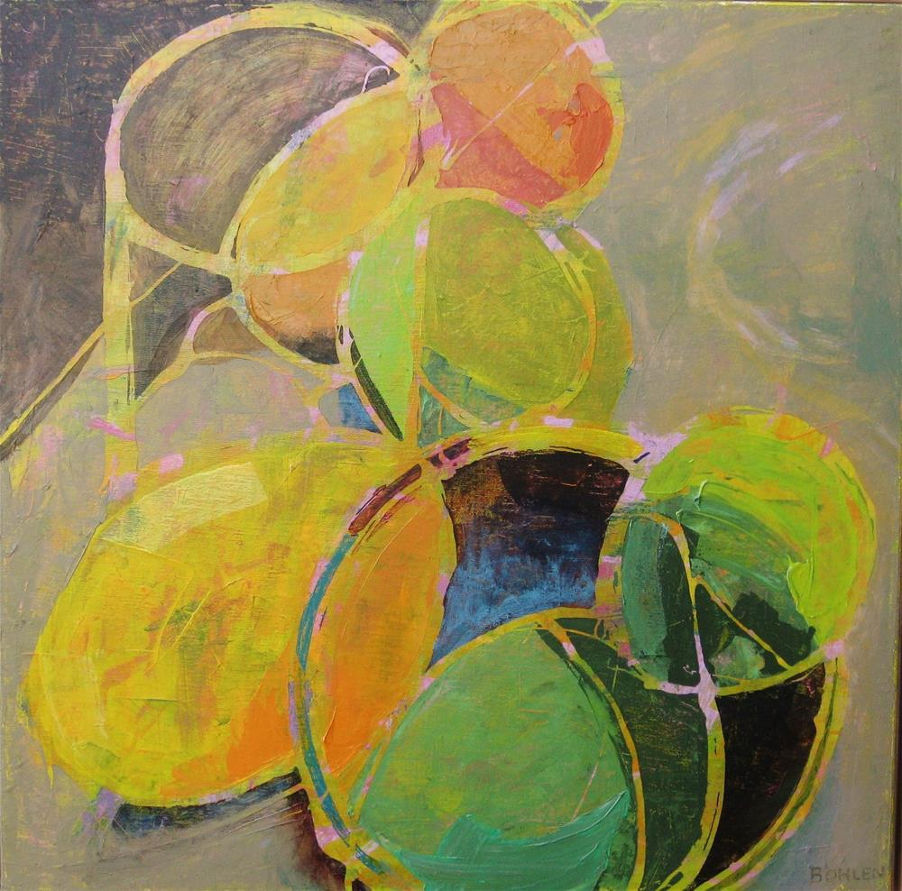 """Citrus"" original fine art by Priscilla Bohlen"