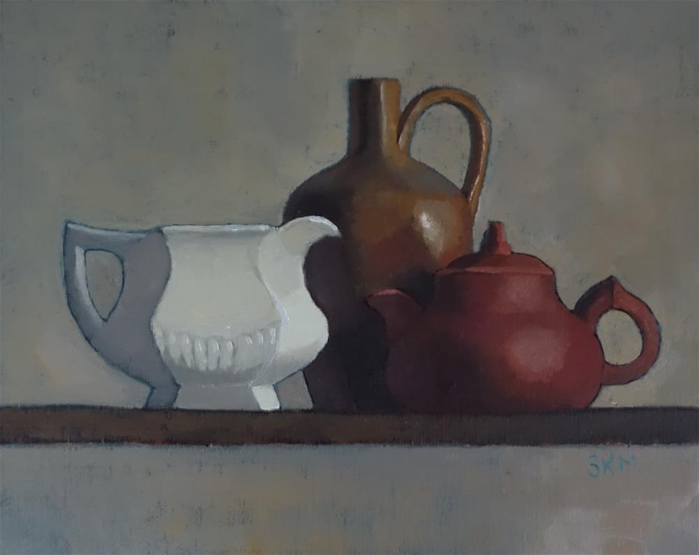 """austere still life"" original fine art by Sarah Meredith"
