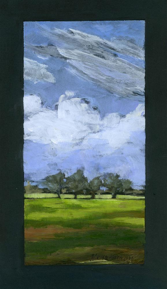 """""""Horizon on Black"""" original fine art by Eileen Hennemann"""