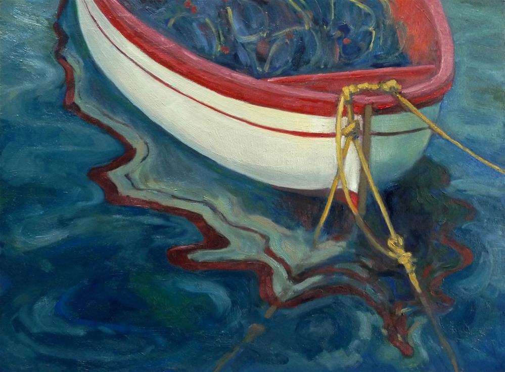 """Reflections in Amalfi"" original fine art by Lisa Kyle"