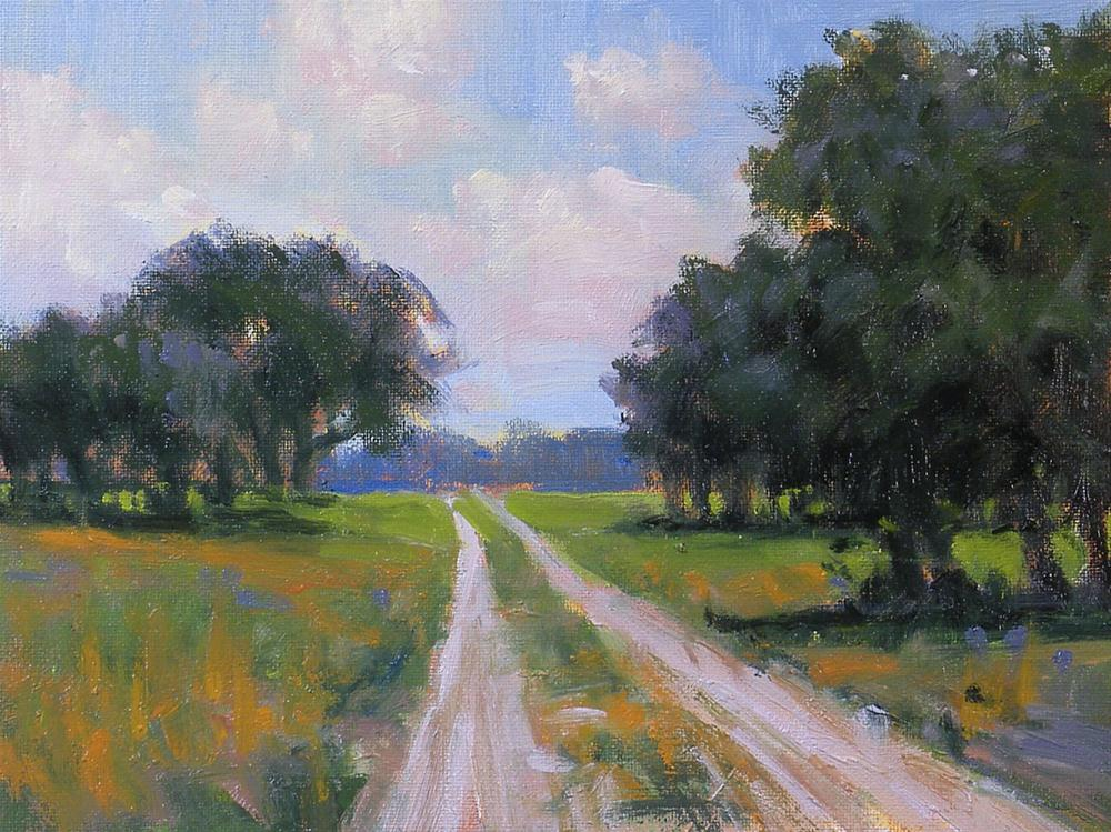 """Down the Road"" original fine art by David Forks"